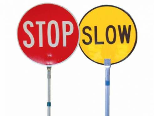 RIIWHS205D Control Traffic With Stop/Slow Bat